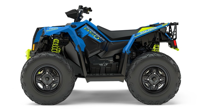 2018 Polaris Scrambler 850 in Sterling, Illinois