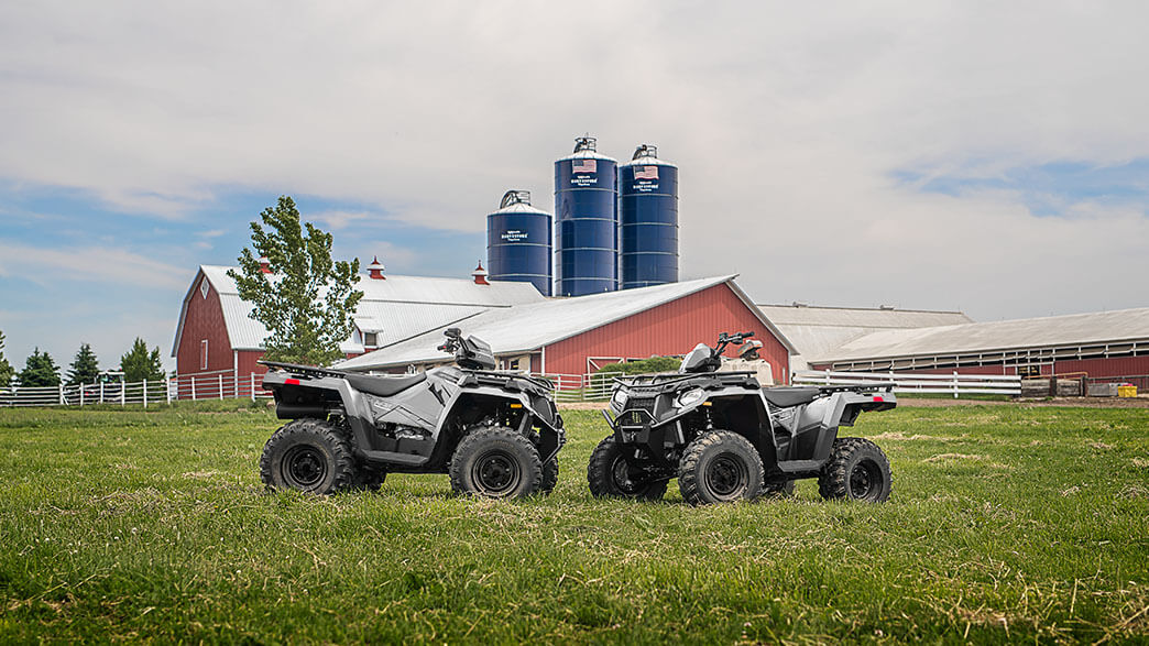 2018 Polaris Sportsman 570 EPS Utility Edition in Littleton, New Hampshire