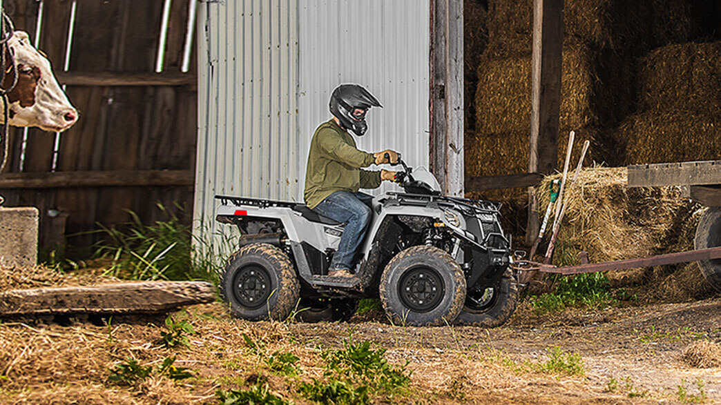 2018 Polaris Sportsman 570 EPS Utility Edition in Lowell, North Carolina