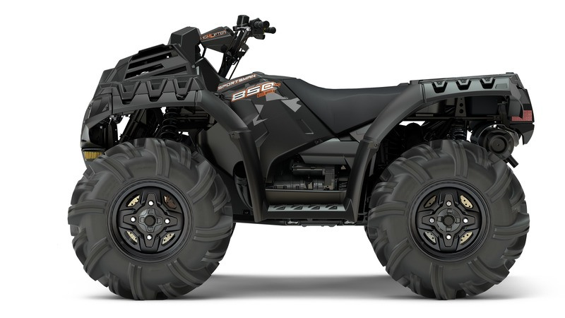 2018 Polaris Sportsman 850 High Lifter Edition in Hancock, Wisconsin