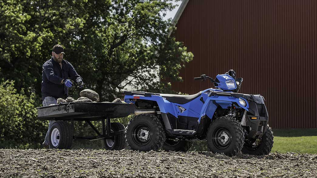 2018 Polaris Sportsman 450 H.O. in Woodstock, Illinois