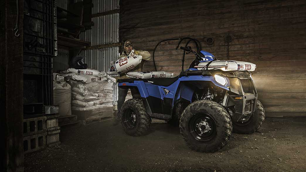 2018 Polaris Sportsman 450 H.O. in Saucier, Mississippi