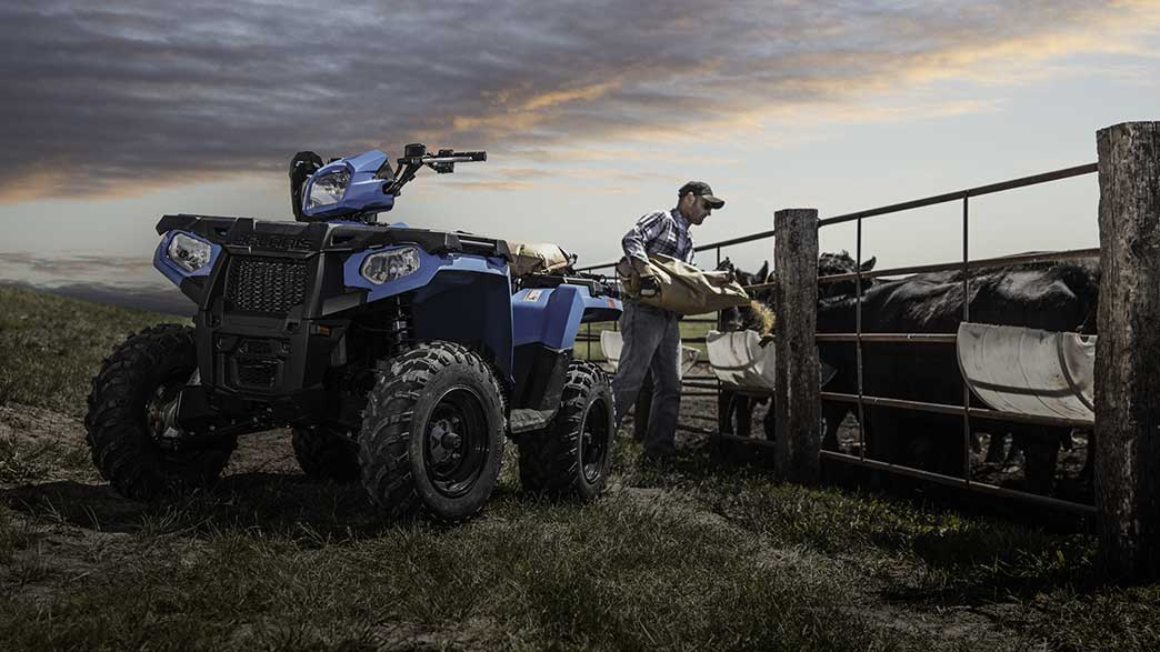2018 Polaris Sportsman 450 H.O. in Elkhorn, Wisconsin