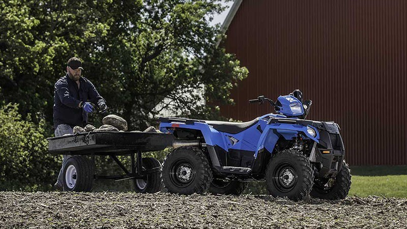 2018 Polaris Sportsman 450 H.O. EPS in Jones, Oklahoma