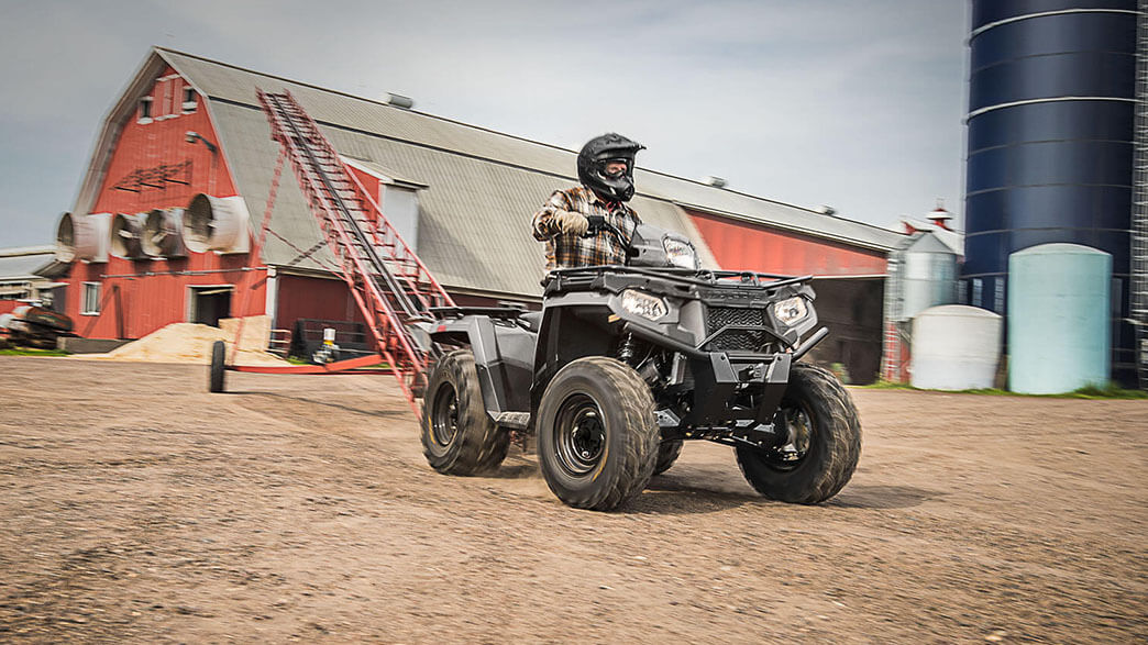 2018 Polaris Sportsman 450 H.O. Utility Edition in Chicora, Pennsylvania