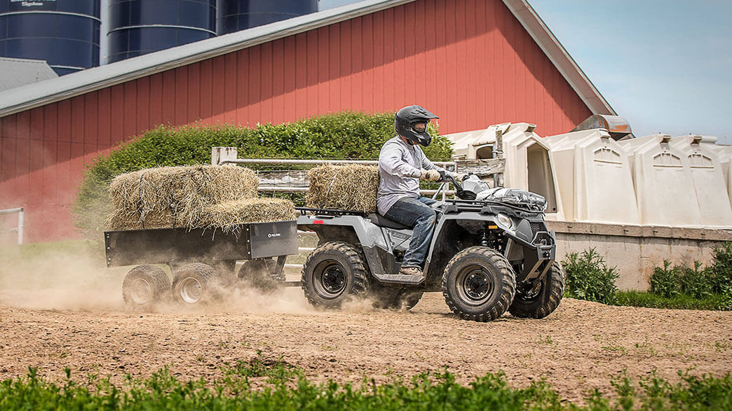 2018 Polaris Sportsman 450 H.O. Utility Edition in Tampa, Florida