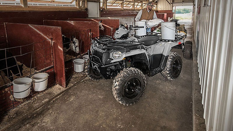 2018 Polaris Sportsman 450 H.O. Utility Edition in Three Lakes, Wisconsin