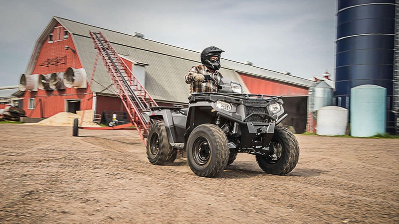 2018 Polaris Sportsman 450 H.O. Utility Edition in Chanute, Kansas