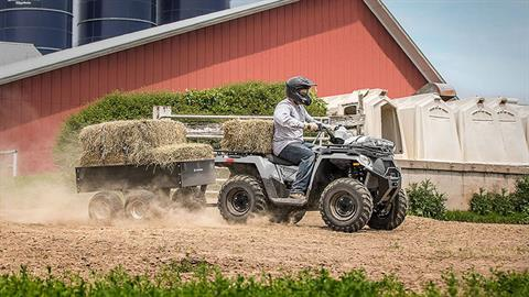 2018 Polaris Sportsman 450 H.O. Utility Edition in Littleton, New Hampshire
