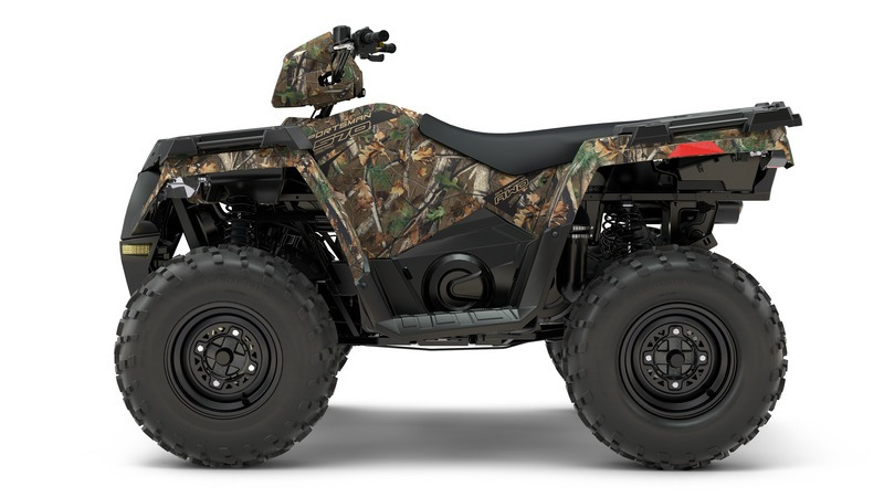 2018 Polaris Sportsman 570 Camo in Ironwood, Michigan
