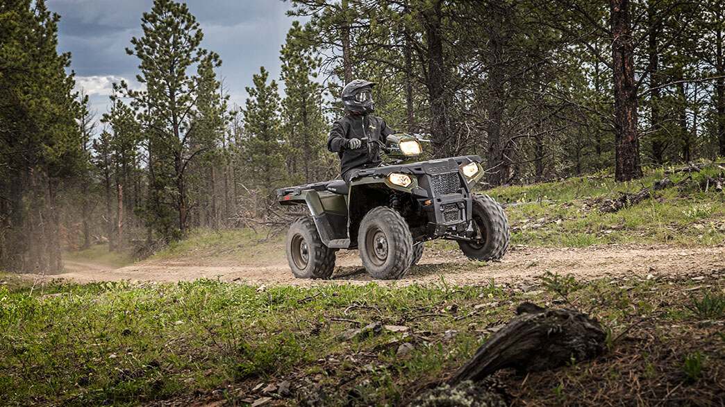 2018 Polaris Sportsman 570 EPS Camo in Lowell, North Carolina