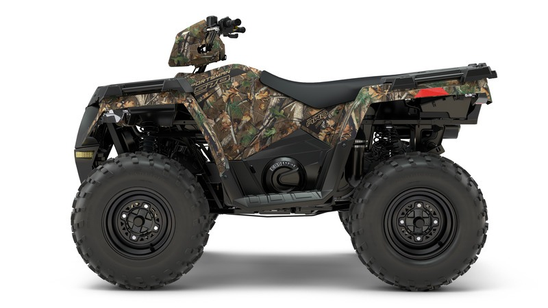 2018 Polaris Sportsman 570 EPS Camo in Milford, New Hampshire