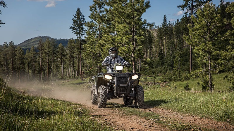2018 Polaris Sportsman 570 EPS Camo in Mahwah, New Jersey
