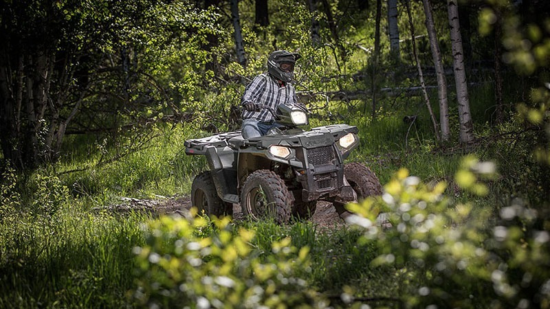 2018 Polaris Sportsman 570 EPS Camo in Littleton, New Hampshire
