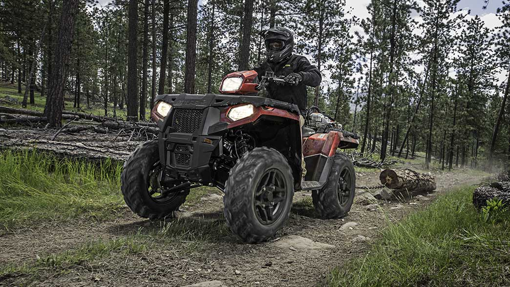 2018 Polaris Sportsman 570 SP Hunter Edition in Woodstock, Illinois