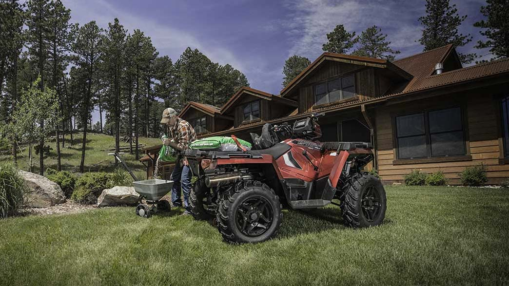 2018 Polaris Sportsman 570 SP Hunter Edition in Elkhorn, Wisconsin