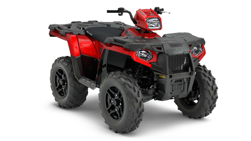 2018 Polaris Sportsman 850 in Hancock, Wisconsin