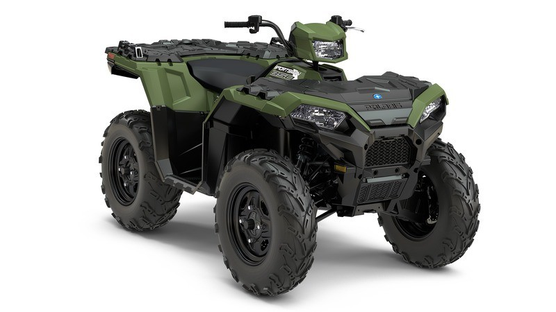 2018 Polaris Sportsman 850 in Broken Arrow, Oklahoma