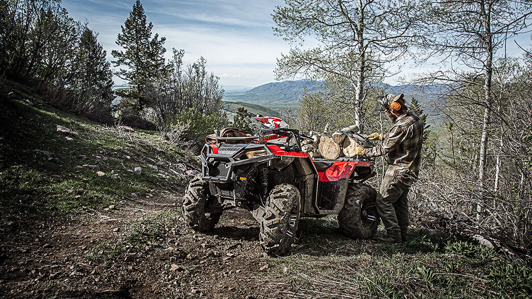 2018 Polaris Sportsman 850 in Terre Haute, Indiana
