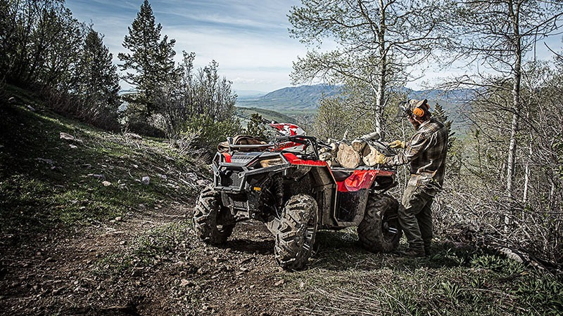 2018 Polaris Sportsman 850 in Center Conway, New Hampshire