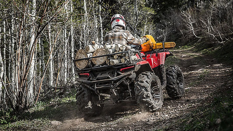 2018 Polaris Sportsman 850 SP in Adams, Massachusetts