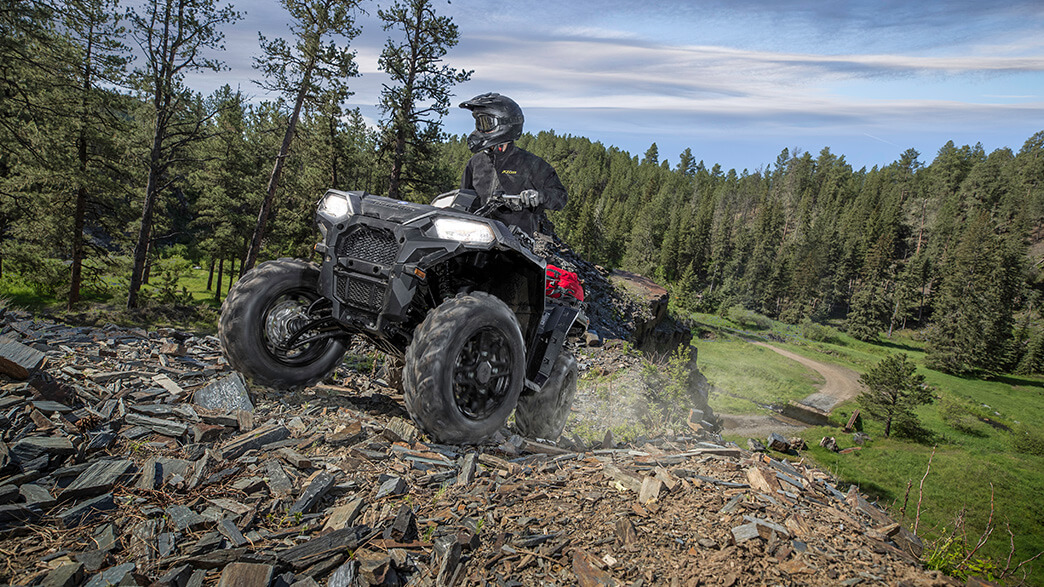 2018 Polaris Sportsman 850 SP in Hancock, Wisconsin