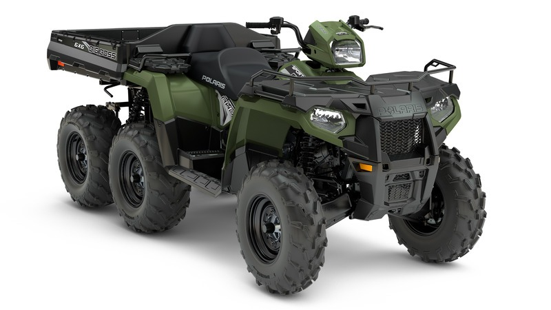 2018 Polaris Sportsman 6x6 570 in Danbury, Connecticut