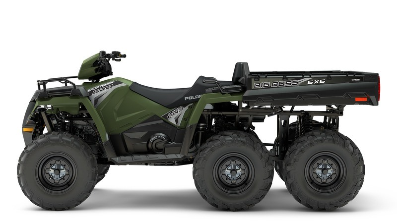 2018 Polaris Sportsman 6x6 570 in Houston, Ohio