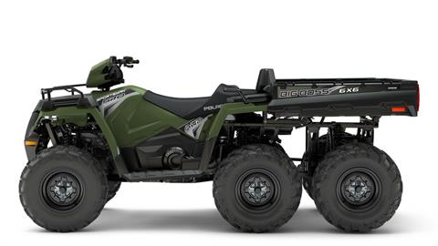 2018 Polaris Sportsman 6x6 570 in Milford, New Hampshire