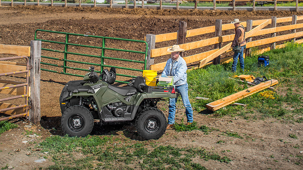 2018 Polaris Sportsman X2 570 EPS in Irvine, California