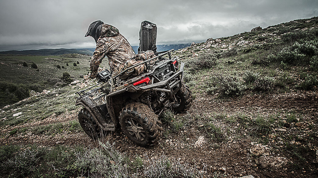 2018 Polaris Sportsman XP 1000 Hunter Edition in Petersburg, West Virginia