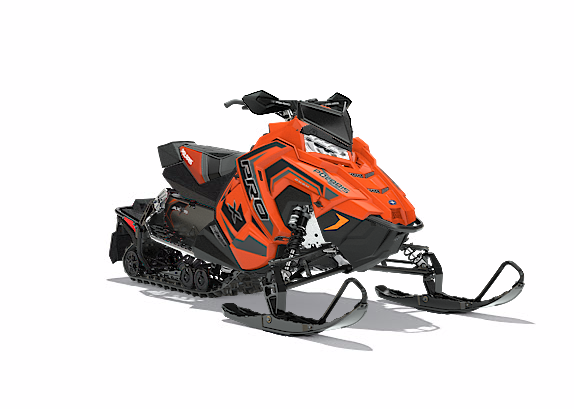 2018 Polaris 800 RUSH PRO-S SnowCheck Select in Sturgeon Bay, Wisconsin