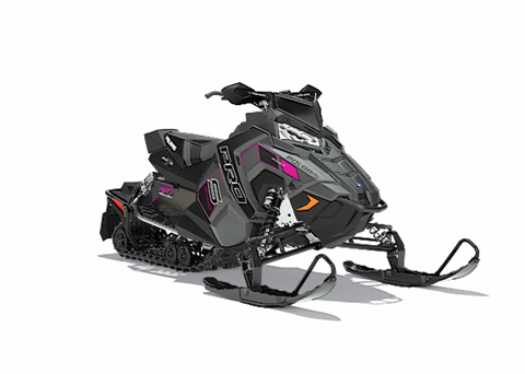 2018 Polaris 800 RUSH PRO-S SnowCheck Select in Baldwin, Michigan