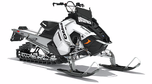 2018 Polaris 600 PRO-RMK 155 ES in Elkhorn, Wisconsin