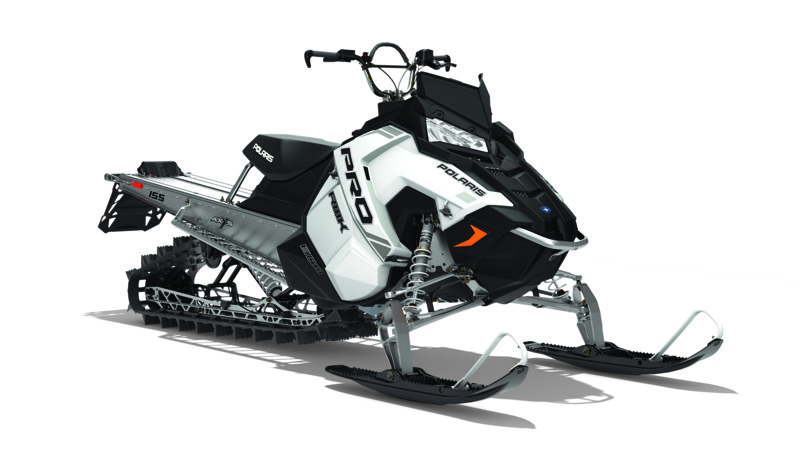 2018 Polaris 600 PRO-RMK 155 ES in Barre, Massachusetts