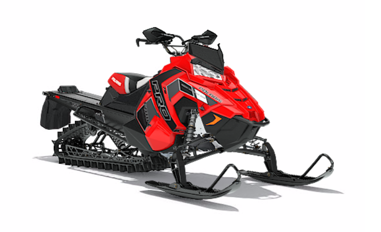 2018 Polaris 800 PRO-RMK 155 3 in. SnowCheck Select in Littleton, New Hampshire