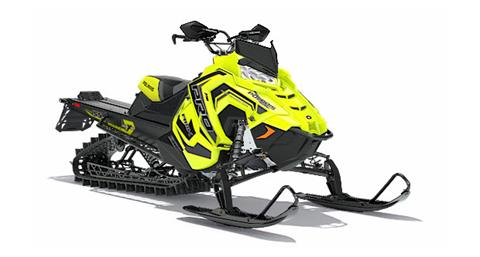2018 Polaris 800 PRO-RMK 155 3 in. SnowCheck Select in Malone, New York