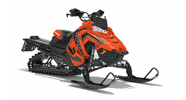 2018 Polaris 800 PRO-RMK 155 3 in. SnowCheck Select in Munising, Michigan