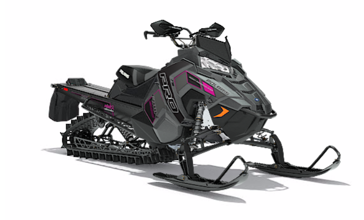 2018 Polaris 800 PRO-RMK 155 3 in. SnowCheck Select in Hailey, Idaho