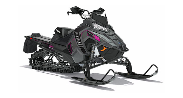2018 Polaris 800 PRO-RMK 155 3 in. SnowCheck Select in Oxford, Maine