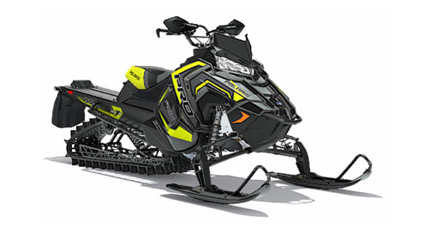 2018 Polaris 800 PRO-RMK 155 3 in. SnowCheck Select in Pittsfield, Massachusetts
