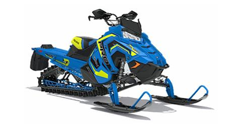 2018 Polaris 800 PRO-RMK 155 3 in. SnowCheck Select in Bigfork, Minnesota