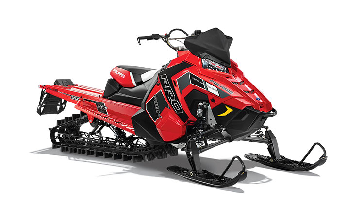 2018 Polaris 800 PRO-RMK 155 SnowCheck Select in Altoona, Wisconsin