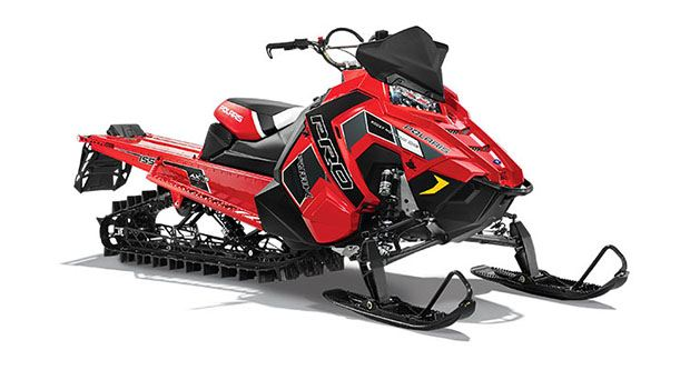 2018 Polaris 800 PRO-RMK 155 SnowCheck Select in Milford, New Hampshire