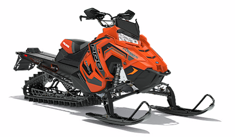 2018 Polaris 800 PRO-RMK 155 SnowCheck Select in Munising, Michigan