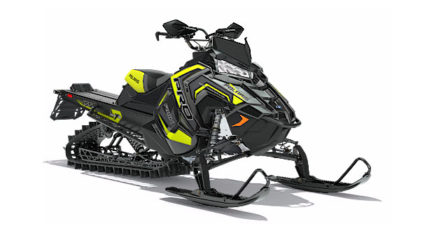 2018 Polaris 800 PRO-RMK 155 SnowCheck Select in Hancock, Wisconsin