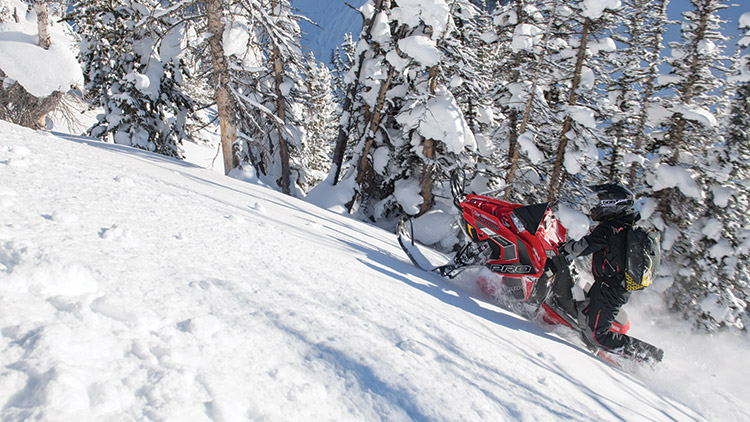 2018 Polaris 800 PRO-RMK 155 SnowCheck Select in Hailey, Idaho