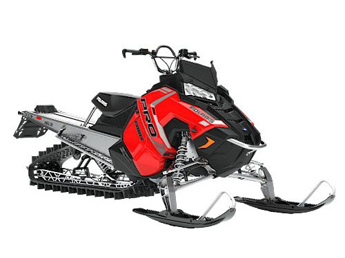 2018 Polaris 800 PRO-RMK 163 in Baldwin, Michigan