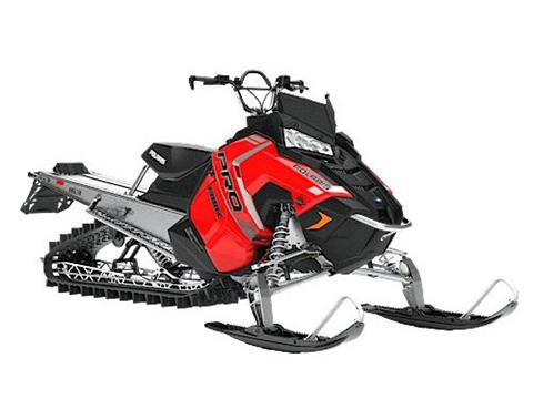 2018 Polaris 800 PRO-RMK 163 in Barre, Massachusetts