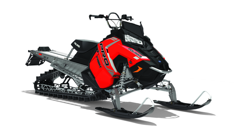 2018 Polaris 800 PRO-RMK 163 in Ironwood, Michigan